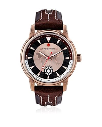 Chrono Diamond Reloj con movimiento cuarzo suizo Man 10800Ir Nereus 43 mm