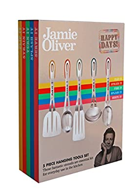 Jamie Oliver 5pc Hanging Tool Set