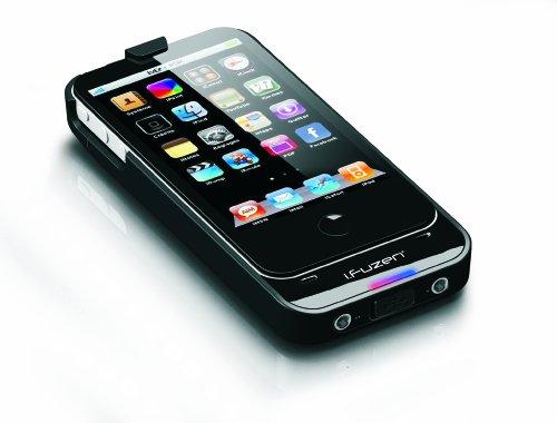 Auzentech iPhone4/4S専用ポータブルヘッドホンアンプ i.fuzen HP-1 ブラック AZT-IFUZENHP1