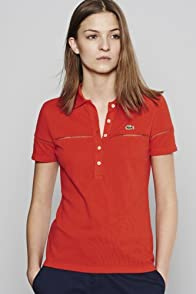 Short Sleeve Ladder Stitch Pique Polo
