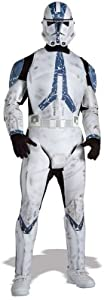 Deluxe Clone Trooper Costume - X-Large - Chest Size 44-46 from WMU