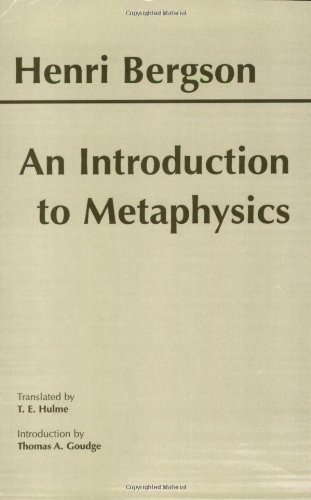 An Introduction to Metaphysics087220507X