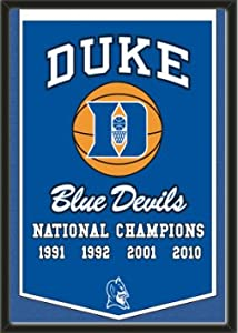 Dynasty Banner Of Duke Blue Devils-Framed Awesome & Beautiful-Must For A... by Art and More, Davenport, IA