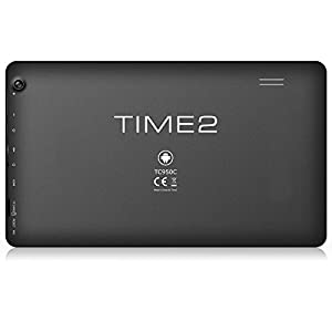 Time2® 9 inch Quad Core (4) Rockchip 3128 (3x Faster Than Allwinner A23 / A33 Tablets) Android Tablet 5.1 Lollipop - 16GB Flash, 1GB RAM, Expand to 32GB - Works with Sky Go! - 1GB RAM - , HDMI, Bluetooth, WiFi and External 3G Connectivity - 4000mAh Lithi