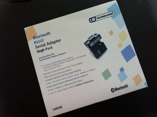 LM048V2 SRP Bluetooth RS232 Serial Adapter Single Retail Pack