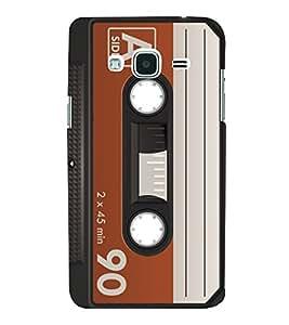 90 Minutes Cassette 3D Hard Polycarbonate Designer Back Case Cover for Samsung Galaxy J3 (6) J320F :: Samsung Galaxy J3 (2016)