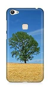 Amez designer printed 3d premium high quality back case cover for Vivo X6 (Field economy hay straw preparation summer tree)