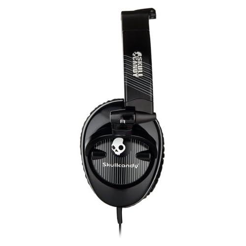 SKULLCANDY SKULLCRUSHERS Black Pinstripeの写真03。おしゃれなヘッドホンをおすすめ-HEADMAN(ヘッドマン)-