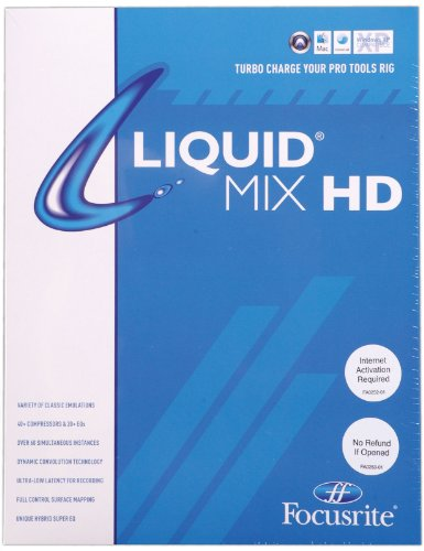 Focusrite Liquid Mix HD TDM Plugin for Pro Tools