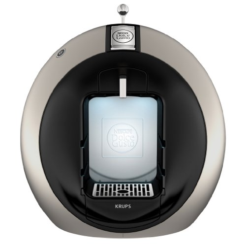 Nescafe Dolce Gusto by Krups KP500950 Circolo Coffee Machine, Titanium