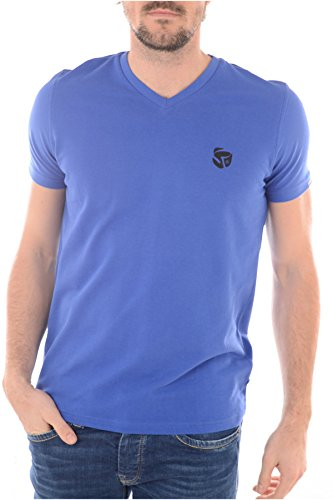 Redskins -  T-shirt - Collo a V  - Maniche corte  - Uomo blu XL