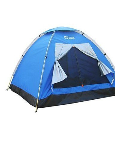 ZQ-ROCVAN-3-Season-A071-3-Persons-Single-Layer-Fiberglass-Pole-Camping-Tent