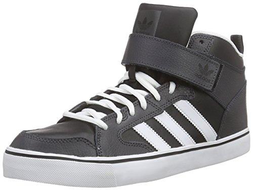 adidas - Varial II Mid, alte scarpe da ginnastica uomo, color Grigio (Dgh Solid Grey/Ftwr White/Core Black), talla 43 1/3