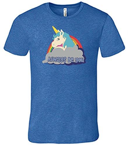 FTD Apparel Men's Central Intelligence T Shirt - Large Blue