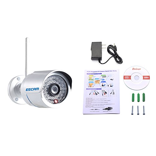 "Escam Q6320 Wifi Bullet Camera Hd 1.0 Megapixel Wireless 1/4"" Cmos 720P P2P Waterproof Ir Ip Camera 15M Day Night Vision Cctv Surveillance Security Camera"