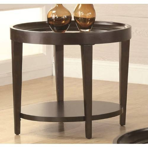 Cheap Coaster Furniture 701387 Contemporary End Table in Cherry 701387 (B008L5L3I4)