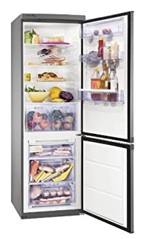 Zanussi ZRB934FX2 Freestanding FrostFree Fridge Freezer 245/78 litre capacity from Zanussi