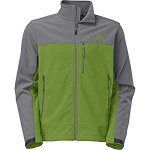 The North Face Men's Apex Bionic Softshell Jacket (X-Large, Adder Green/Sedona Sage Grey) from The North Face
