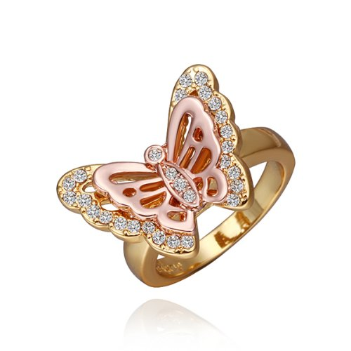 Alloy Gold-Plated Crystal Rhinestone Women Girls