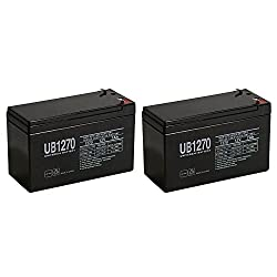 Liebert GXT2-1000RT120, GXT2-1500RT120 UPS Battery MK ES7-12 T2 Replacement - 2 Pack