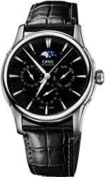 Oris Artelier Complication 2014 Men's Day Date Automatic GMT Swiss Made Watch 01 781 7703 4054-07 5 21 71FC