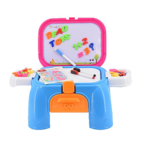 deao-creative-activities-kit-handy-carrycase-stool-2in1-with-magnetic-board-and-accessories-included