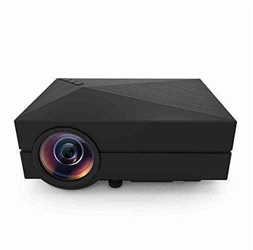 "130"" Mini LED Projector 1000 lumens Multimedia Beamer Portab"