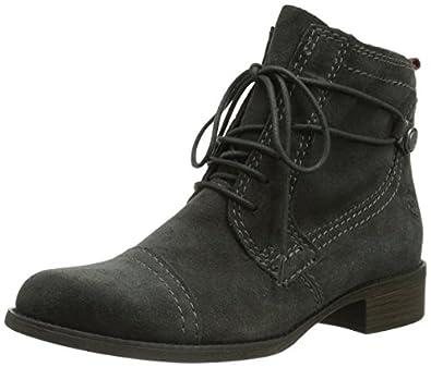 Marco Tozzi Premio 25113, Damen Combat Boots, Grau (Grey Antic / 212), 39 EU (6 Damen UK)