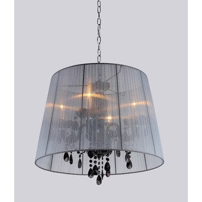 Charmaine Crystal Elegant Shade Hanging Lamp