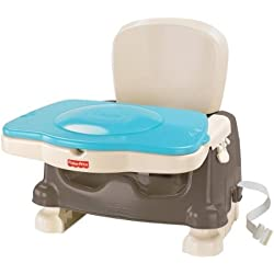 Fisher-Price Healthy Care Deluxe Booster - Blue/Grey