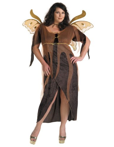 Adult-Costume Autumn Fairy Adult Costume Plus Halloween Costume