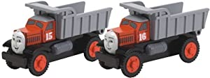 Thomas And Friends Wooden Railway - Max And Monty the Dump Trucks