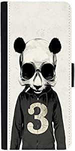 Snoogg Skull Mousedesigner Protective Flip Case Cover For Google Nexus 6