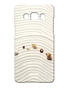 Pickpattern Back Cover for Samsung A5 (White)