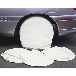 Wheel & Tire Canvas Paint Masking Set - 4 Painting Mask