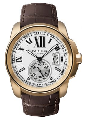 NEW CALIBRE DE CARTIER MENS WATCH W7100009
