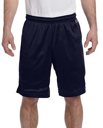 Champion -  Pantaloncini  - Uomo blu navy Medium