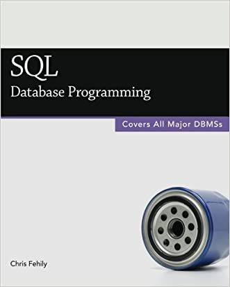 SQL (Database Programming) written by Chris Fehily