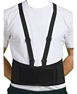 Ergonomic Lifting Back Belt w/ Suspenders 7