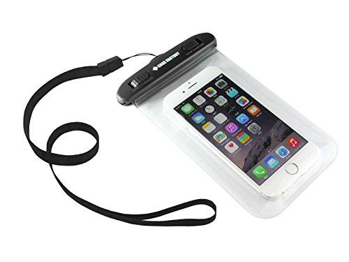 CASE FACTORY 防水ケース AQUA MARINA for iPhone6  防水保護等級 IPX8 ネックストラップ付属 AAM-004 クリア