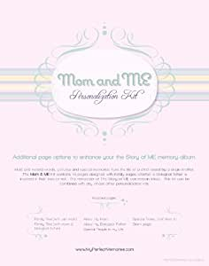 Perfect Memory Creations The Story of Me Personalization Kit, Mom and Me (Discontinued by Manufacturer)