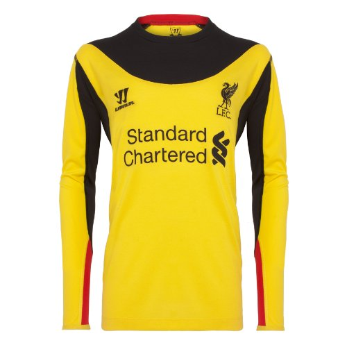 LFC Junior Away Goalkeeper Shirt 12/13, YELLOW, 6-7 years