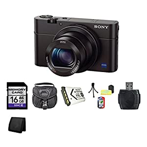 Sony Cyber-shot DSC-RX100M III Digital Camera DSCRX100M3 RX100M3 Bundle 1