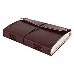 Handmade Leather Journal for Men Unique Gifts lightning deals him her women