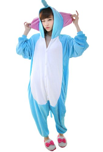 Blue Elephant Kigurumi Costume