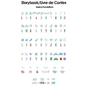 Cricut 29-0589 Cartridge Storybook