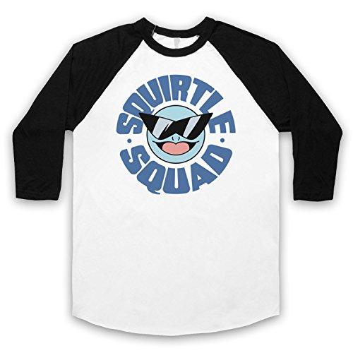 Pokemon-Squirtle-Squad-Manga-34-Camiseta-del-Bisbol