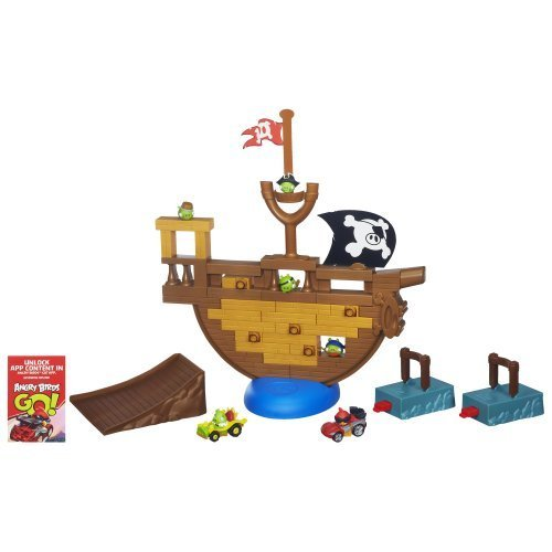 Angry Birds Go! Jenga Pirate Pig Attack Game [Toys & Games] Holiday Toy