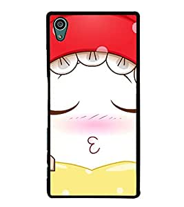Cute Sleeping Girl 2D Hard Polycarbonate Designer Back Case Cover for Sony Xperia Z5 :: Sony Xperia Z5 Dual