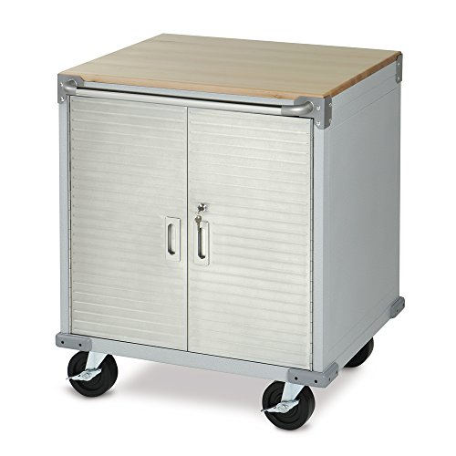Ultra Heavy Duty Stainless Steel Rolling Cabinet